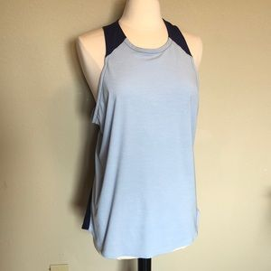 The North Face Blue Tank Top